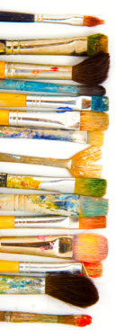 Paintbrushes-creativity