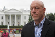 Mark Leibovich at White House