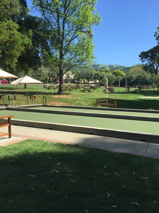 Bocci Courts and Picnic Area